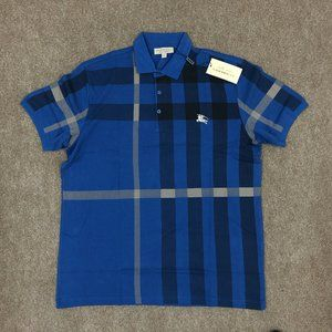 Burberry Brit Men Blue Polo Shirt